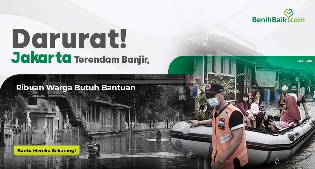 Darurat!Jakarta Terendam Banjir