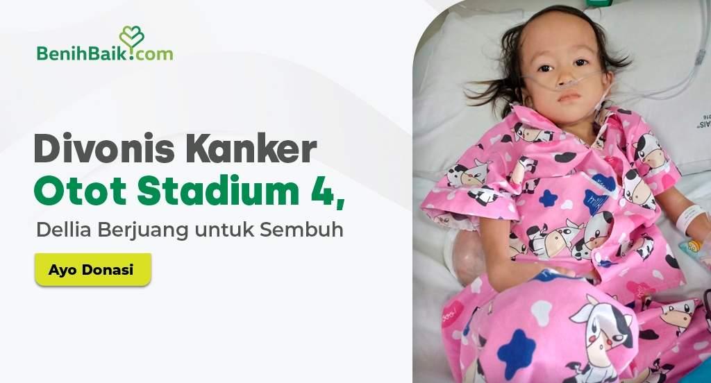 Jumat Berkah : Divonis Kanker Otot Stadium 4, Dellia Berjuang untuk Sembuh