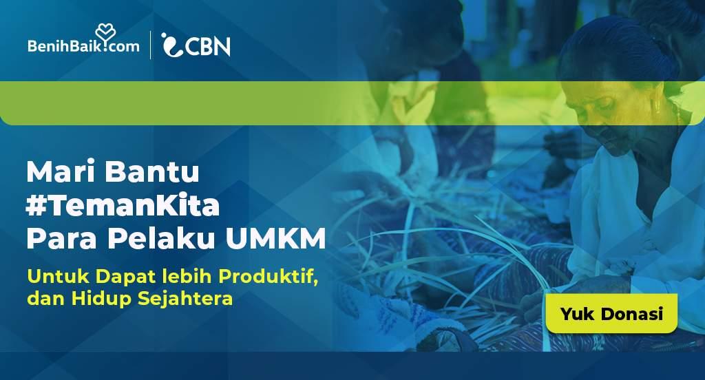 CBN Bantu Para Pelaku UMKM