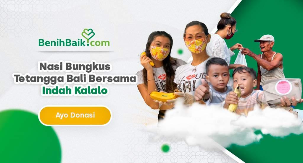 Nasi Bungkus Tetangga Bali Bersama Indah Kalalo