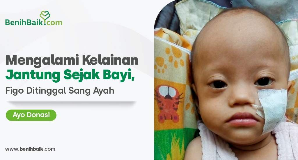 Jumat Berkah : Mengalami Kelainan Jantung Sejak Bayi, Figo Ditinggal Sang Ayah