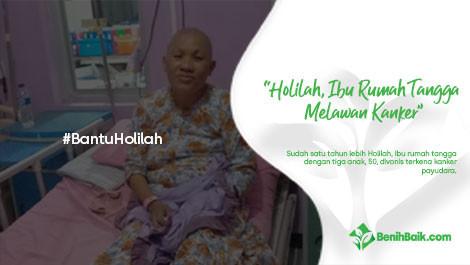 Holilah, Ibu Rumah Tangga Melawan Kanker