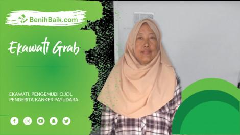 Ekawati, Pengemudi Ojol Penderita Kanker Payudara