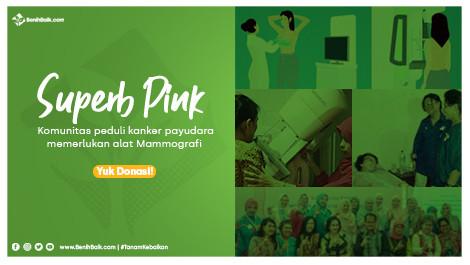 Superb Pink Memerlukan Alat Mammografi