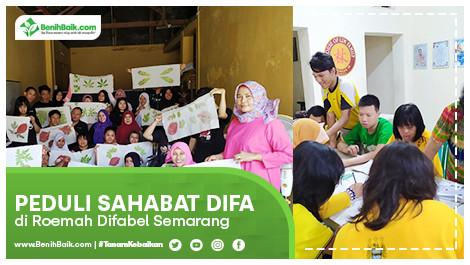 Peduli Sahabat Difa Di Roemah Difabel Semarang