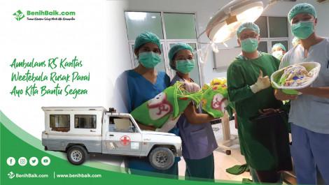 Ambulans RS Karitas Weetebula Rusak Parah, Ayo Kita Bantu Segera