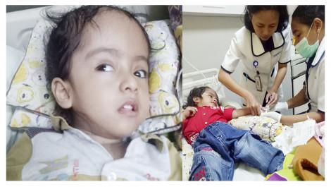 Melkior, Bocah Yang Jalani Operasi Sejak Usia Dua Bulan, Butuh Bantuan