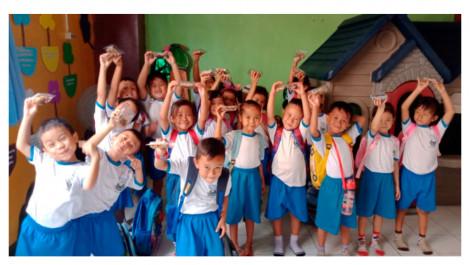 Bantu Tingkatkan Gizi Anak-anak PAUD Suryakasih