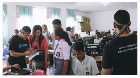 Mengajar Bahasa Inggris Di Pulau-pulau Terluar Bersama Cakap(dot)com