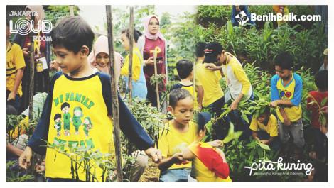 Komunitas JLR Berbagi Kebahagiaan Dengan Anak-anak Pejuang Kanker Di Yayasan Pita Kuning