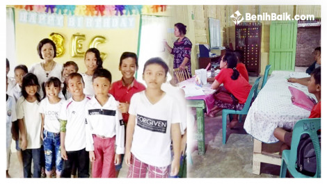 Bersama Nurianti, Bantu Anak-anak Naga Jaya-Sumatra Bisa Ngomong Bahasa Inggris