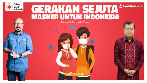 Sejuta Masker Untuk Indonesia