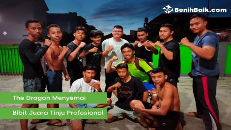 The Dragon Menyemai Bibit Juara Tinju Profesional