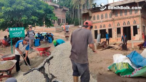 Wujudkan Pembangunan Masjid Desa Teluk Kulbi Di Jambi