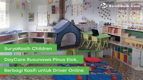 Suryakasih Children Daycare Rusunawa Pinus Elok, Berbagi Kasih Untuk Driver Online