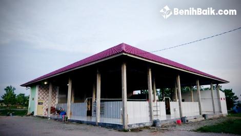 Tak Ada Plafon, Masjid Baitul Ilmi Itera Jadi Tempat Burung Bersarang