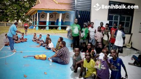 Rumah Rehabilitasi Anak-anak Kecanduan Lem Aibon di Nabire-Papua