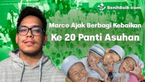 Marco Ajak Berbagi Kebaikan Ke 20 Panti Asuhan