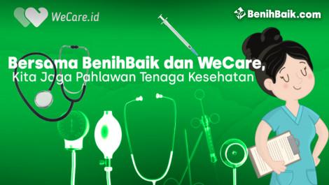 Bersama BenihBaik dan WeCare, Bantu APD Tenaga Kesehatan