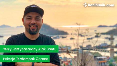 Yerry Pattinasarany Ajak Bantu Pekerja Terdampak Corona