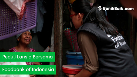 Peduli Lansia Bersama Foodbank of Indonesia