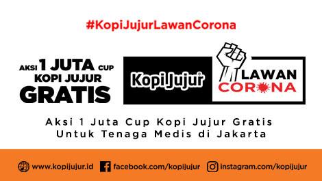 Aksi Satu Juta Cup Kopi Jujur Gratis Untuk Tenaga Medis