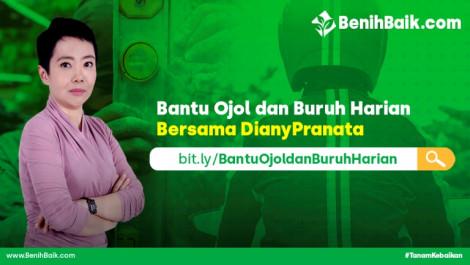 Bantu Ojol Dan Buruh Harian Bersama Diany Pranata