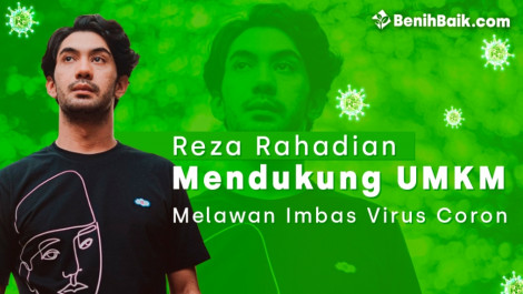 Reza Rahadian Mendukung UMKM Melawan Imbas Virus Corona