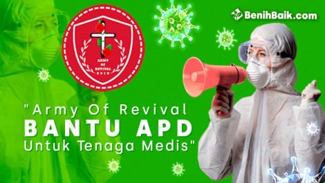 Army Of Revival Bantu Apd Untuk Tenaga Medis