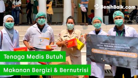 Bersama NGT Dukung Tenaga Medis Lewat Gizi & Nutrisi