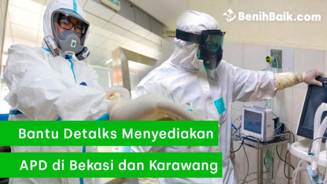 DETALKS! Ingin Berikan APD ke RSUD Bekasi dan Karawang
