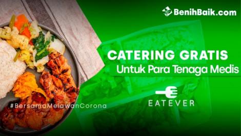 Eatever Berbagi Makanan Untuk Tenaga Medis