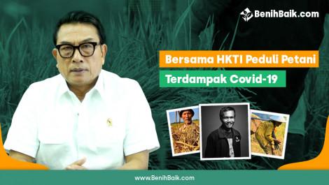 Bersama HKTI Peduli Petani Terdampak Covid-19