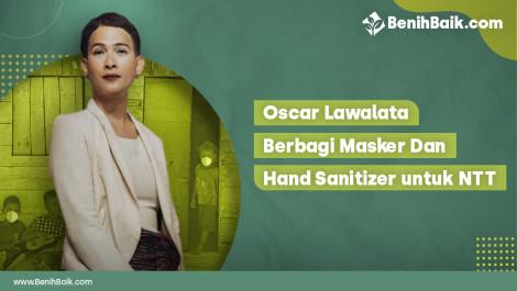 Masker dan Hand Sanitizer untuk NTT
