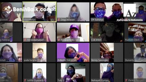 Sepuluh Ribu Masker Untuk Lansia, Orang Dengan Demensia (odd) Dan Caregivers