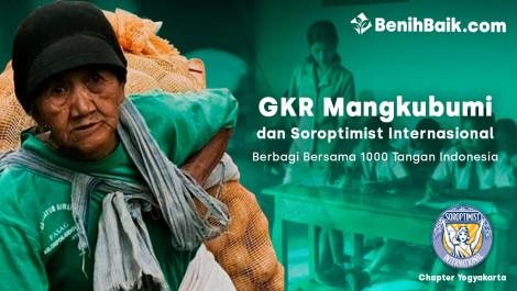 GKR Mangkubumi dan Soroptimist Internasional Berbagi Bersama 1000 Tangan Indonesia