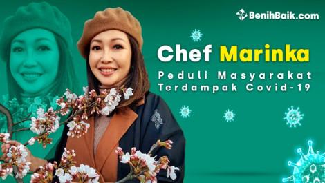 Chef Marinka Peduli Masyarakat Terdampak Covid-19