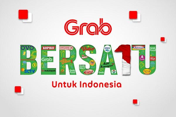 Bersama Grab Bersatu untuk Indonesia, Ubah Promo Jadi Donasi