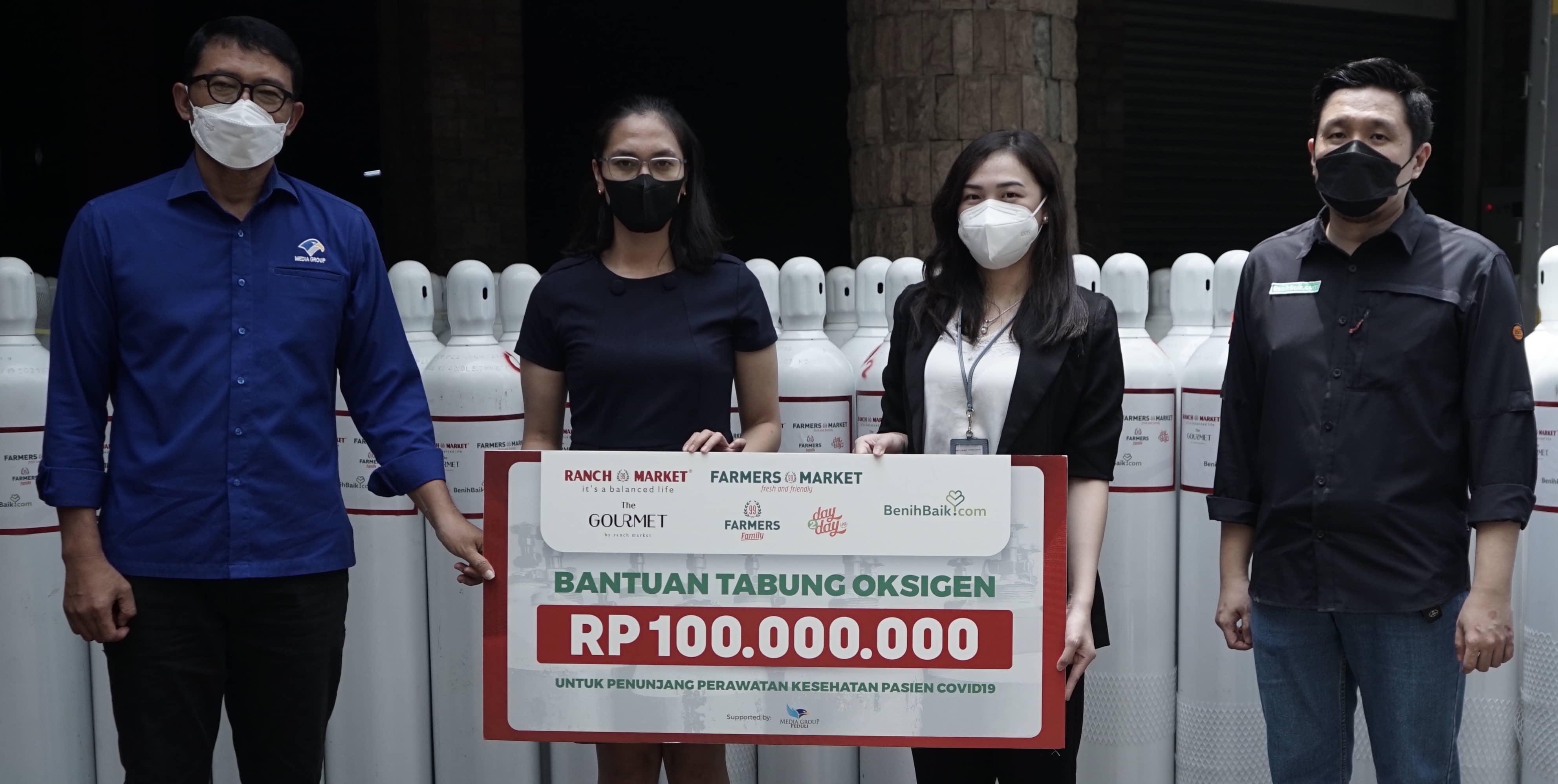 Lima Rumah Sakit di Jawa Tengah Menerima Donasi Ranch Market