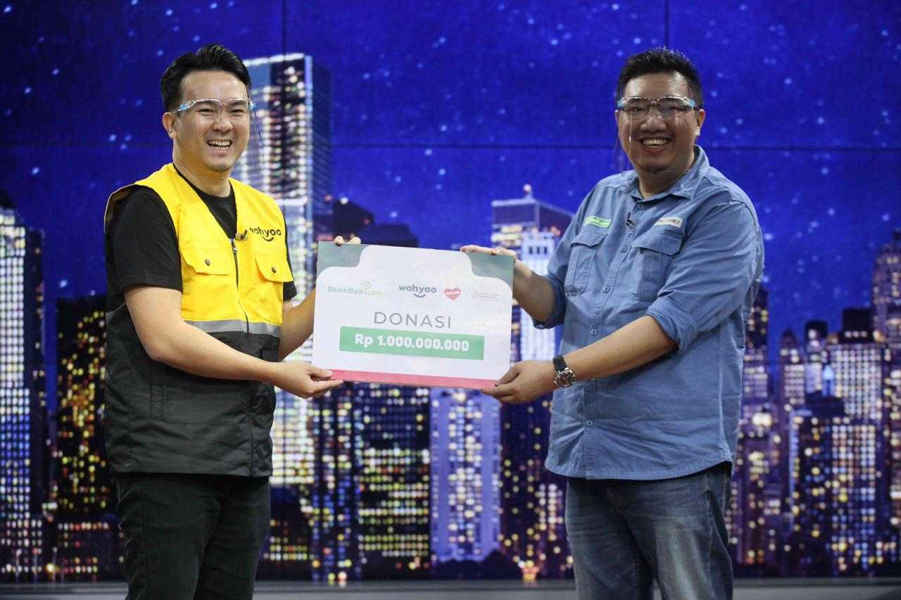 Kolaborasi Wahyoo dan Belfoods Bagikan Rp1 Miliar untuk Pelaku Usaha